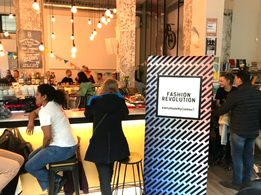 """La """"Fashion Revolution"""" débarque les 25-26 avril"""