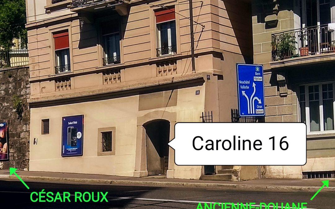 Rue Caroline 16 – Votre nouvel espace de quartier